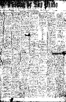A Província de São Paulo passa a chamar-se O Estado de S. Paulo, 1/1/1890