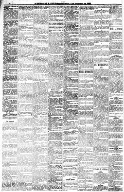 Primeira edição Extra da história do jornal, 3/2/1908, pág.2
