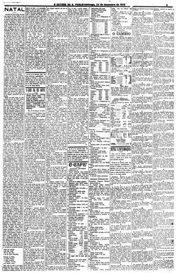 """Artigo """"Natal"""", escrito por  Amadeu Amaral, 25/12/1910"""
