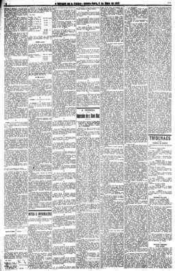 Olavo Bilac escreve sobre a guerra, 6/5/1915