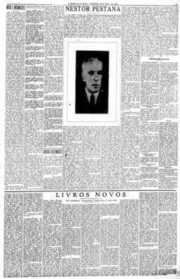 Morte de Nestor Pestana, 29/4/1933