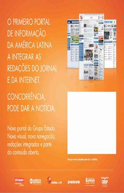Reformulação do portal do Grupo Estado, 30/1/2006