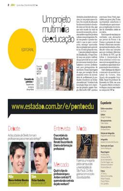"""Lançamento do projeto """".edu"""", 30/4/2009"""