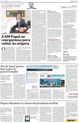 Site da revista Piauí passa a fazer parte do portal estadão.com.br, 6/8/2010