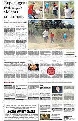 Reportagem que evitou ação violenta em Lorena e ganhou Prêmio Esso