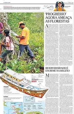 Na categoria Cobertura Especial, foram premiadas as infografias da série Repórter Viajante produzidas pelo repórter Herton Escobar que tratavam de temas ligados à preservação ambiental.