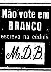 Não vote em branco