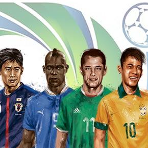 Conheça as oito seleções da Copa das Confederações 2013