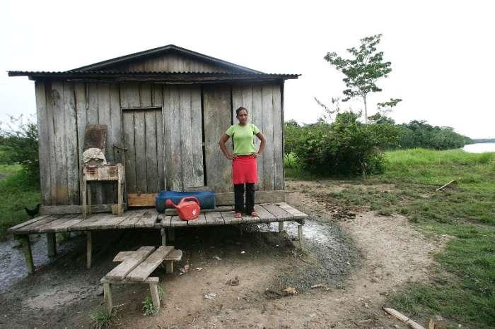 Eliene da Costa, 26 anos, moradora da região do Alto Purus