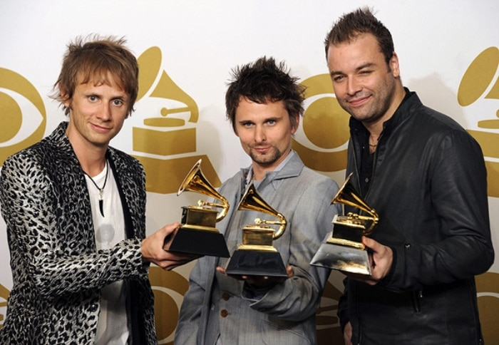 Banda Muse leva prmio no Grammy