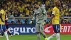 Müller marcou o primeiro gol, logo aos dez minutos de jogo, chegando a cinco na Copa, um a menos que James Rodríguez, da Colômbia.