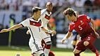 No jogo corrido, Alemanha e Portugal usam de seus contra-ataques, mas os alemães são mais eficientes