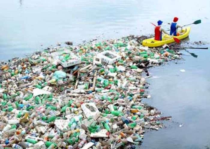 O lixo fez seu papel, apesar de não fazer parte da intervenção artística de Eduardo Srur