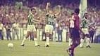 Edmundo e Evair marcaram contra o Vitória na final do Brasileirão de 1993. O time fez 2 a 0 e chegou o bicampeonato nacional