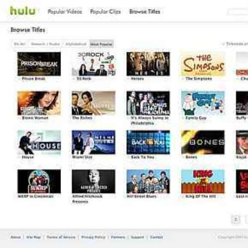 News Corp e NBC lançam Hulu, site concorrente do YouTube. 29/10/2007