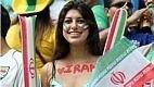 A torcida do Irã vai à Fonte Nova com a esperança de ver seu time classificado