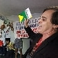 Evanglicos protestam contra presena de Genoino e Cunha na CCJ