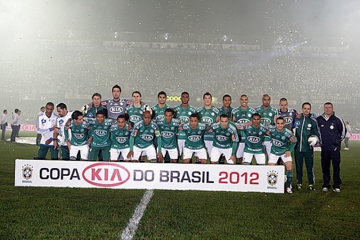 Palmeiras arranca empate em Curitiba e  campeo da Copa do Brasil