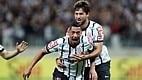 Volante Ralf fez 2 a 0 para o Corinthians aos 14 minutos de jogo. Gol  já dava ao time alvinegro a classificação às quartas