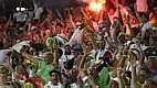 Na primeira rodada, a Argélia foi derrotada pela Bélgica por 2 a 1, no Mineirão.
