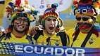 Na primeira rodada do Grupo E, o Equador perdeu por 2 a 1 para Suíça, no Mané Garrincha.