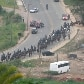Reintegrao de posse na comunidade Pinheirinho, em So Jos do Campos/SP. 22-01-2012