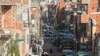 Vista da Villa 31, uma das maiores favelas da Argentina