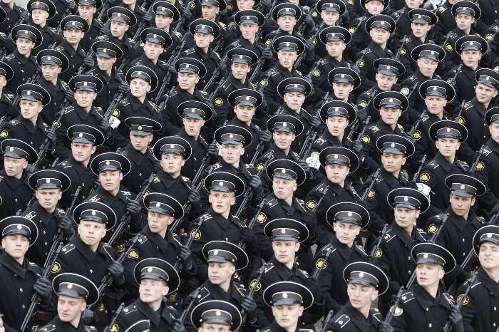 Rússia vai ter um milhão de homens nas Forças Armadas
