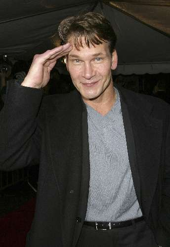 Patrick Swayze, em 2002