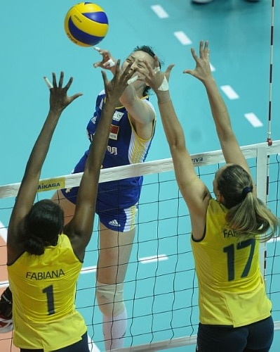 Brasil vence a China na fase final do Grand Prix 2012