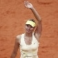Mari Sharapova na segunda rodada do Roland Garros 