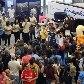Bonecos vieram ao Brasil para dar as boas-vindas aos dois mascotes dos Jogos 2016