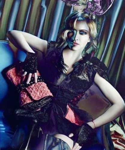 Campanha da marca Louis Vuitton com participação de Madonna