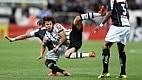 Romero formou, ao lado de Romarinho e Luciano, a linha de ataque do Corinthians na vitória por 3 a 1 sobre o Bragantino