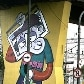 Pilastras de metrô grafitadas se transformam no 1º Museu Aberto de Arte Urbana, em São Paulo