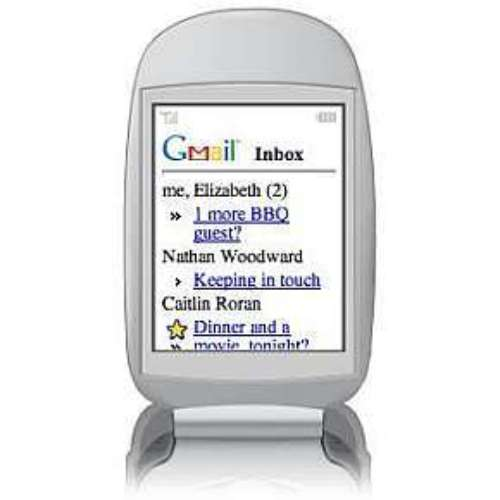 Google libera acesso ao Gmail pelo celular sem downloads. 24/10/2007
