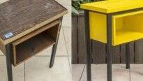 Aprenda como restaurar uma mesa lateral