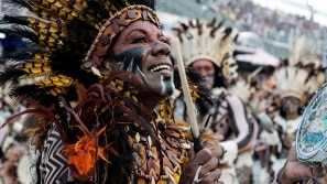 Veja os melhores momentos do desfile da Beija-Flor
