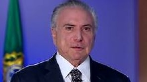 Temer: 'o Brasil não parou e não vai parar'
