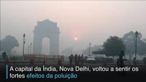 Festival enche Nova Délhi de poluição