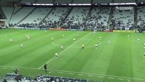 Corinthians derrota Linense por 3 a 1