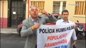 Major Olimpio (SD-SP) volta a fazer protestos...