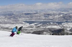Em Deer Valley, snowboard não entra