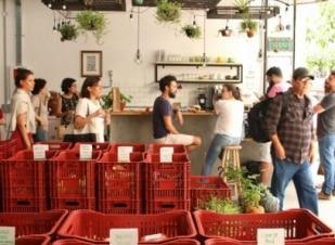Orgânicos são vendidos a preço justo em nova loja