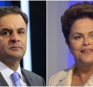 Sensus: Aécio tem 54,6% dos votos válidos e Dilma, 45,4%