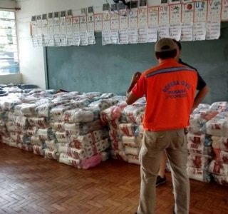 Coordenadoria Estadual de Proteção e Defesa Civil do Paraná/Divulgação