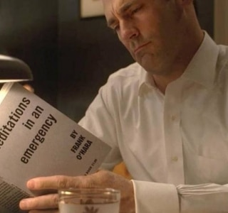 A influência da poesia de Frank O'Hara na série Mad Men