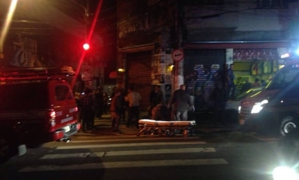 Motorista embriagado e sem CNH atropela três em bar de Pinheiros