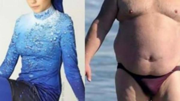 Internautas pedem 'fim de sungas a homens gordos'