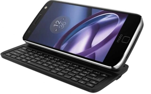 Motorola anuncioutecladopara aparelhos Moto Z durante a CES 2018